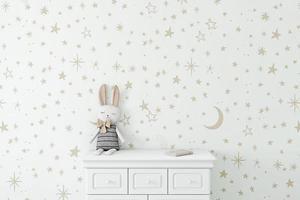 mockup di muro bianco - 2 foto