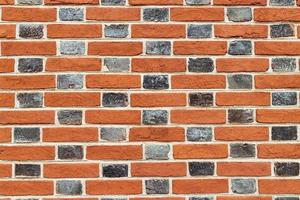 fondo di struttura del muro di mattoni antichi. foto