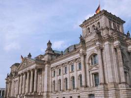 Reichstag a Berlino foto