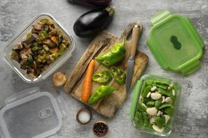 primo piano deliziosa preparazione del pasto foto