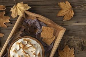 la tavola dei dolci più gustosi foto