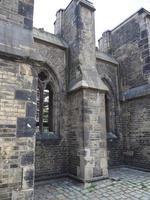 rovine della chiesa di san nicola ad amburgo foto