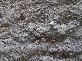 consistenza naturale della roccia foto