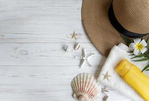 concetto di vacanze estive foto