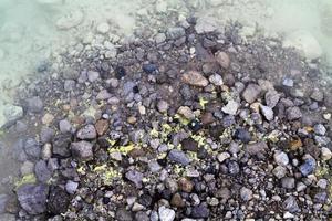 zolfo e bordo d'acqua foto