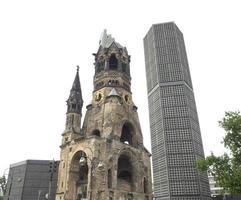 chiesa bombardata, berlino foto