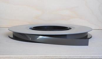 bobina di nastro magnetico per l'archiviazione dei dati foto