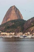 baia di botafogo a rio de janeiro, brasile. foto