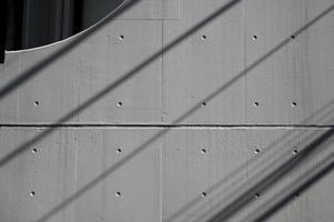 ombre diurne astratte dall'esterno foto