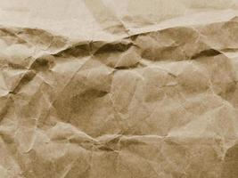 vecchia trama di carta pergamena stropicciata. risoluzione e bella foto di alta qualità