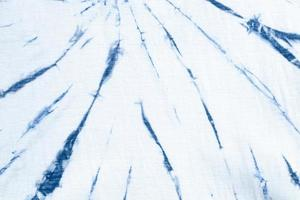tie dye swirl design blu brillante. foto
