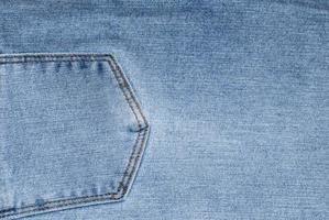 la trama del grunge stile blue jeans foto