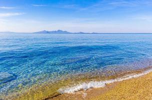 le spiagge più belle dell'isola di kos in grecia vista panoramica. foto