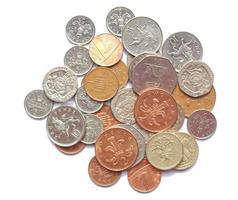 monete da una sterlina, regno unito foto