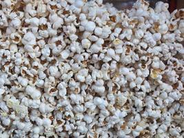 sfondo primo piano pop corn foto