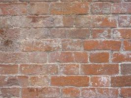 retro vintage mattone vecchio muro texture immagine di sfondo foto