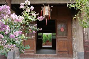 museo delle arti popolari tianshui casa popolare hu shi, gansu china foto
