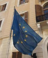 bandiera europea d'europa foto
