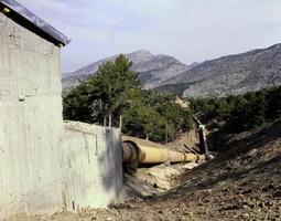 immagini dalla centrale idroelettrica foto