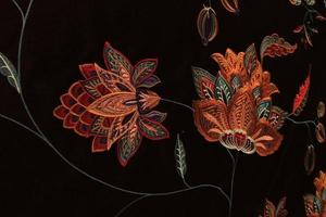 tessuti turchi per tende e tappezzeria foto