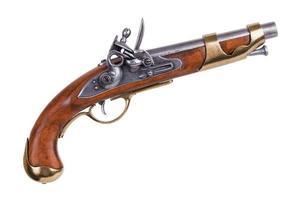 copia di una vecchia pistola foto