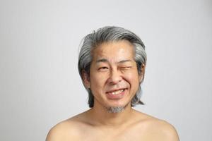 vera pelle del viso foto