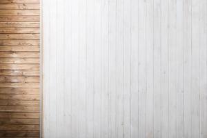 fondo in legno marrone e bianco foto