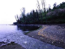 vedute dell'est della Turchia, laghi, montagne, fiumi. foto