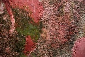 sfondo di un vecchio muro di gesso foto