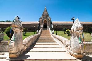wat phra that lampang luang, lampang, thailandia foto