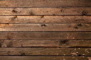 fondale della parete del piano del tavolo della plancia di legno marrone foto