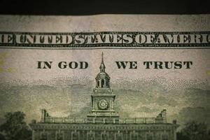 benjamin franklin su dollaro usa - usd foto
