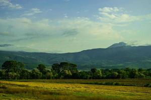 paesaggio georgiano centrale foto