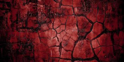 sfondo horror rosso e nero. cemento rosso scuro grunge texture foto