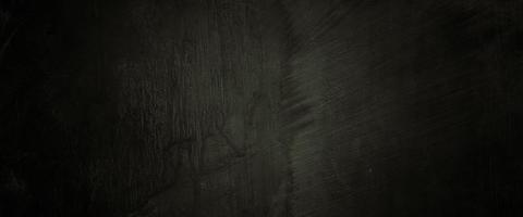 trama di cemento horror. sfondo spaventoso grunge. muro di cemento vecchio nero foto