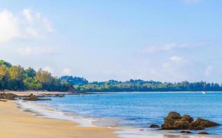 aow yai beach sull'isola di koh phayam, thailandia, 2020 foto