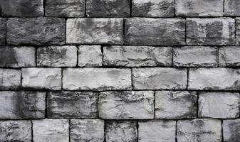 muro di blocchi grigio foto