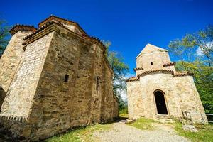 Monastero di dzveli shuamta in georgia foto