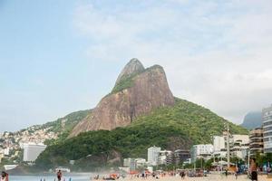rio de janeiro, brasile, 2015 - due fratelli di collina foto
