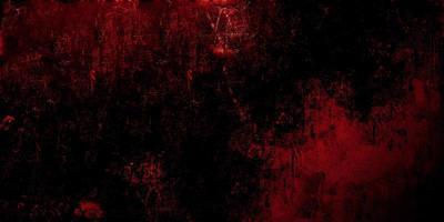 sfondo rosso spaventoso. cemento rosso scuro grunge texture foto