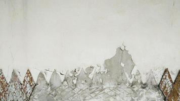 il vecchio e crack muro di mattoni sfondo texture. foto