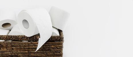 rotoli di carta igienica copia spazio foto