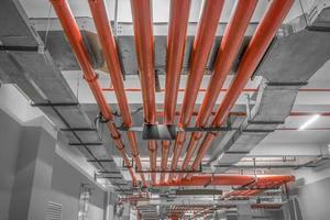 irrigatore d'acqua e sistema antincendio foto