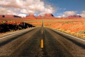 Monument Valley Arizona miglio 13 vista foto