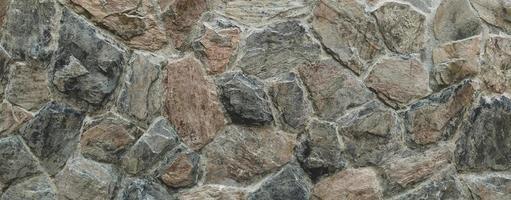 lo sfondo del modello di struttura del muro di pietra foto