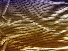 trama del tessuto all'aperto foto