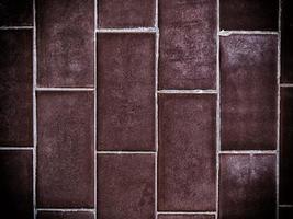 trama di mattoni su sfondo foto