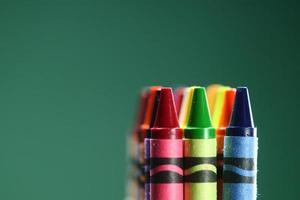 pastelli colorati torna a scuola foto