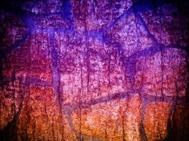 trama di pietra blu nel giardino foto