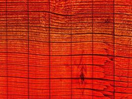 struttura in legno arancione foto